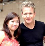 Star struck with Chef Ramsay